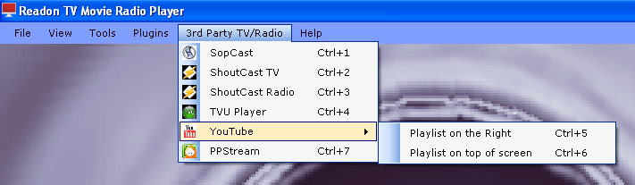 Readon TV Movie Radio Player