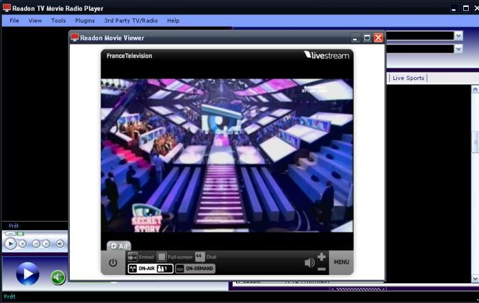 readon tv movie radio player 7.6 0.0 free download