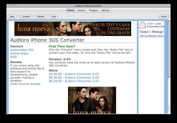 Audioro iPhone Converter 2.03