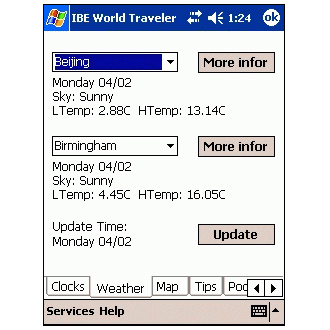 IBE World Traveler