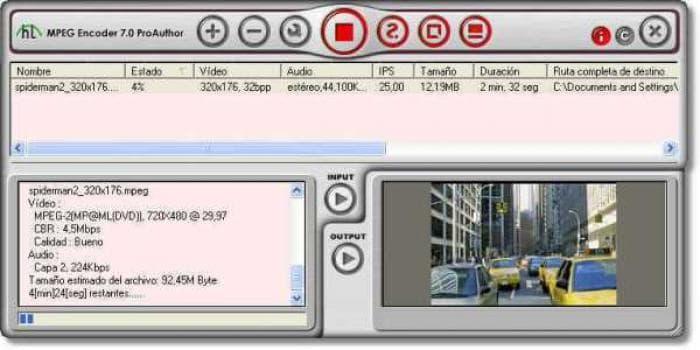 HT MPEG Encoder