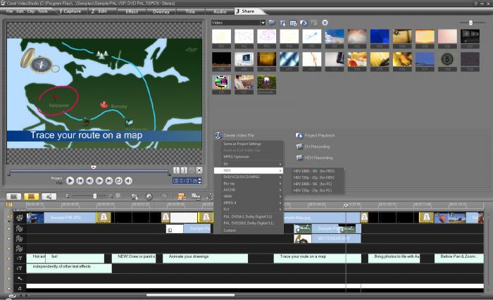 Corel Videostudio Pro - Télécharger