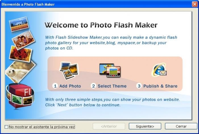 Photo Flash Maker Free Version