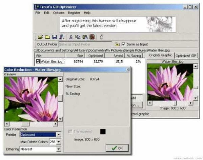 Trouts GIF Optimizer