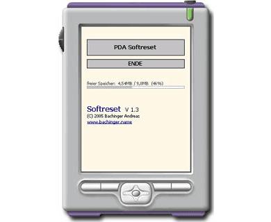 PDA Softreset