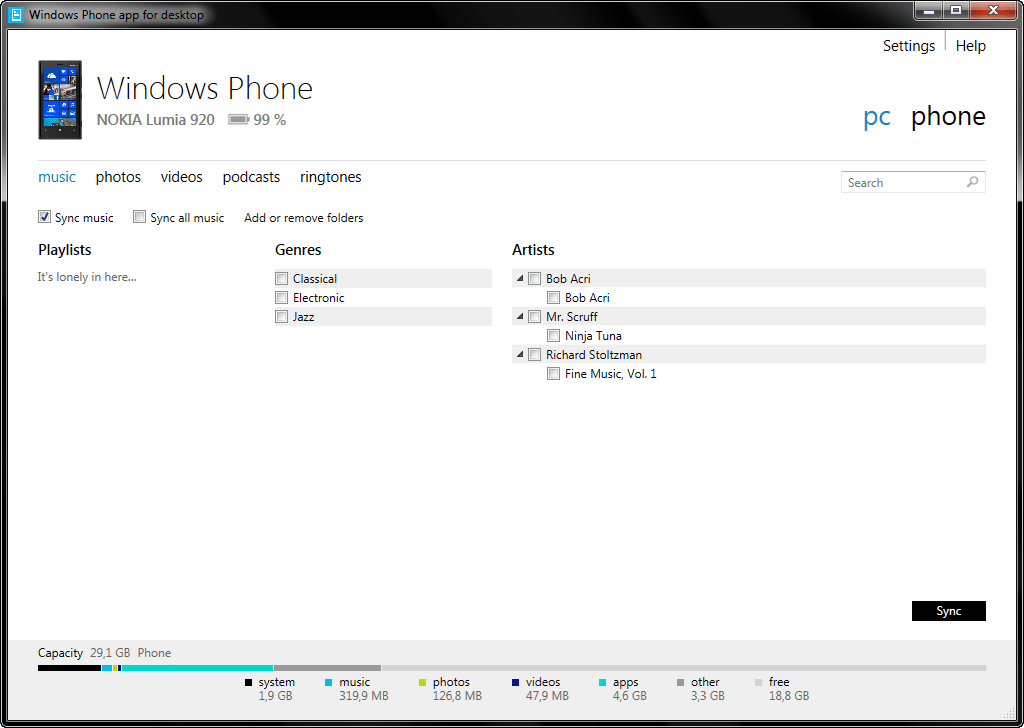 The 1.1.2726 version of Windows Phone app for desktop is provided as a free download on our software library. Our antivirus check shows that this download is malware free.