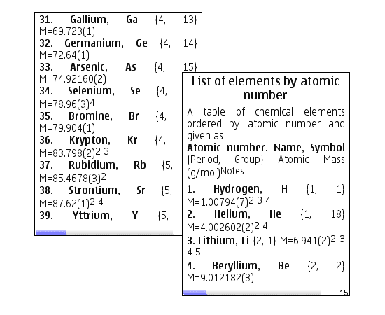 Free periodic table of elements for pocket pc download even the name periodic table brings back some awful memories for me of chemistry lessons spent trying to memorise all those boggling abbreviations urtaz Gallery