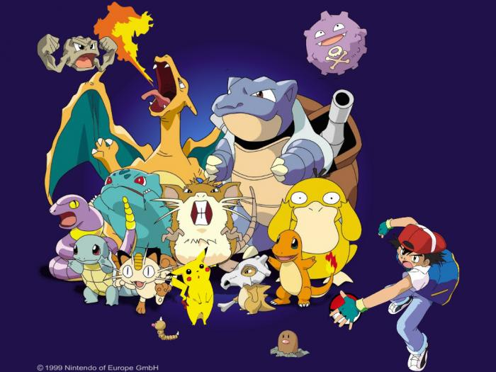 Pokemon Official Screensaver