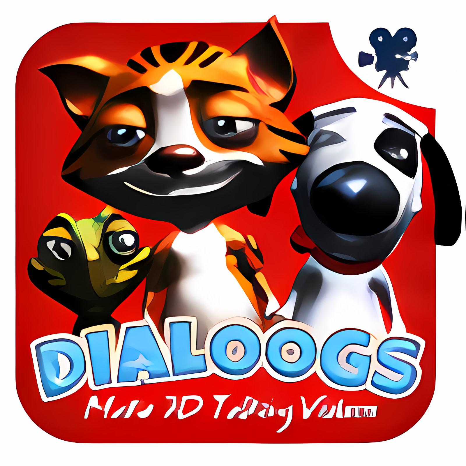 Dialoogs- 3D vídeos que hablan