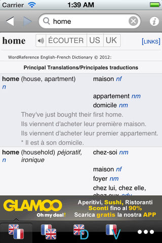 Dictionnaire WordReference.com