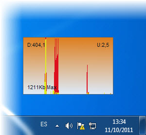 SysTray Bandwidth Monitor