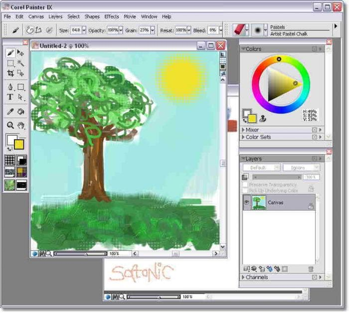 corel painter gratuit mac Multimedia mac os ma