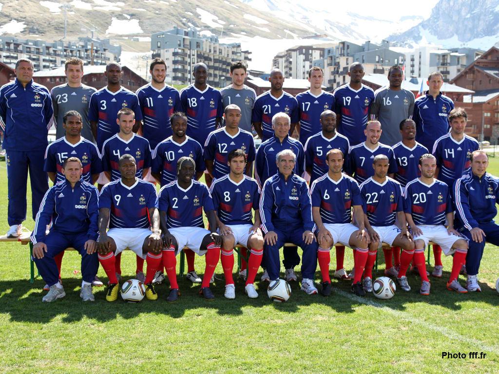 Fond d'écran - Equipe de France 2010