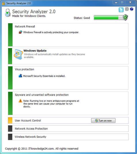 Security Analyzer