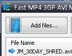 Fast MP4 3GP AVI MPG WMV RM MOV FLV Converter