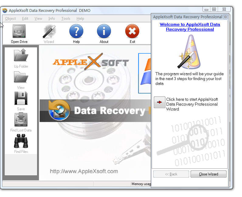 AppleXsoft Data Recovery Professional