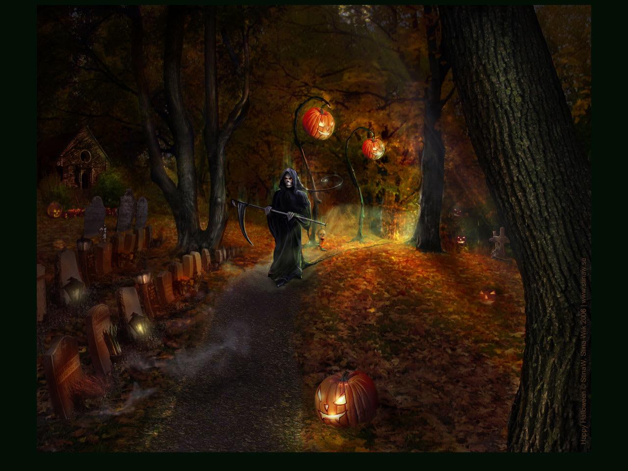Halloween... Wallpaper