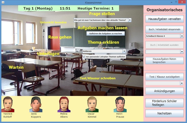 Mathelehrer Simulator