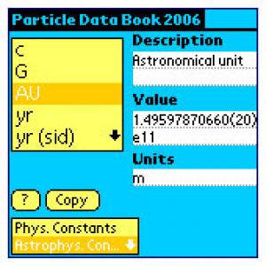 Particle Data Book