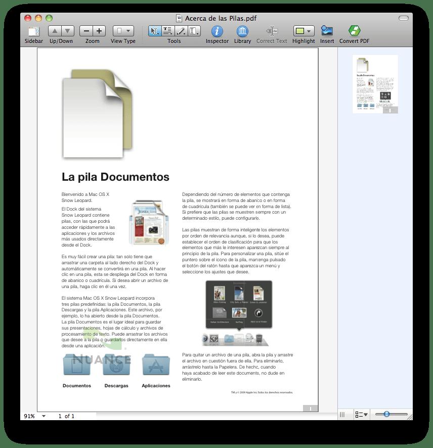 Nuance PDF Converter