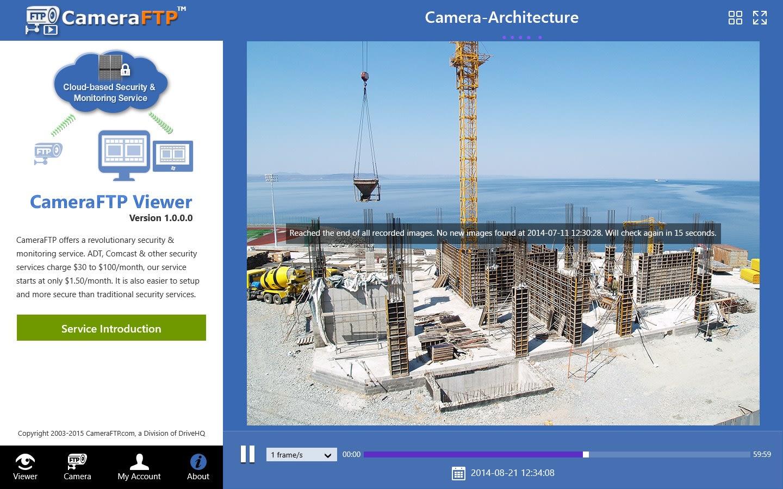 CameraFTP Cloud Security Camera Viewer