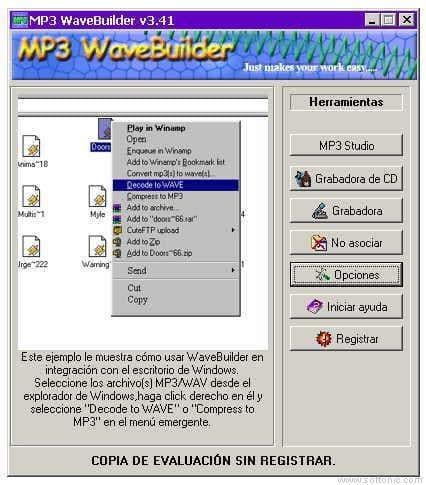 MP3 WaveBuilder