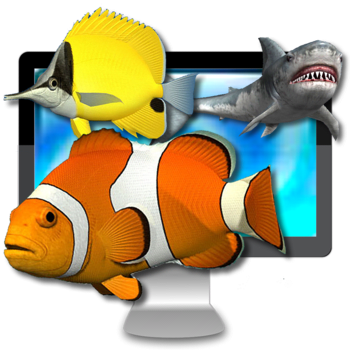 Desktop Aquarium 3D LIVE Wallpaper & ScreenSaver 1.9