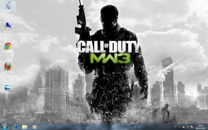 Fond d'écran Call of Duty: Modern Warfare 3