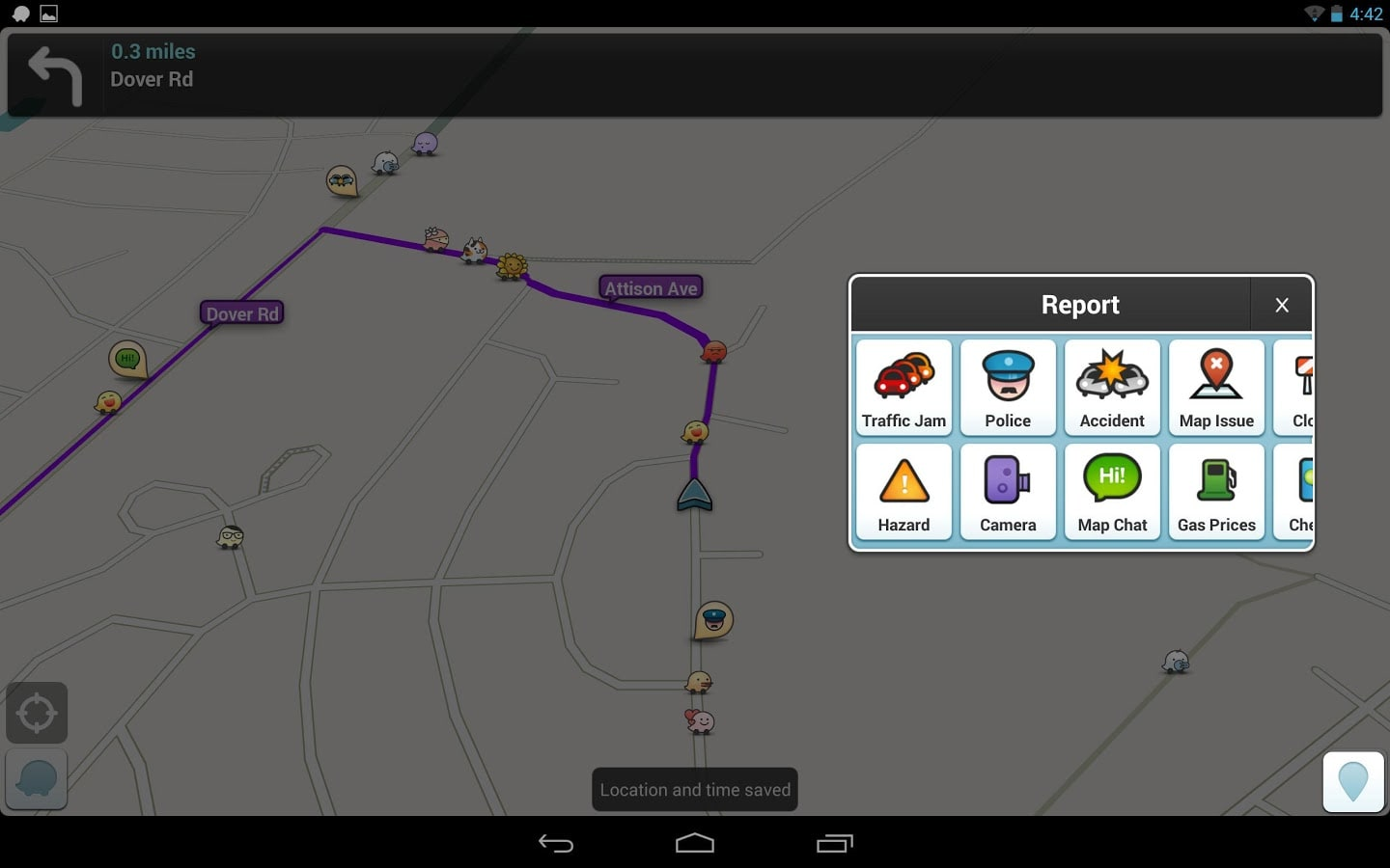 Safe Driving App >> Waze for Android - Download