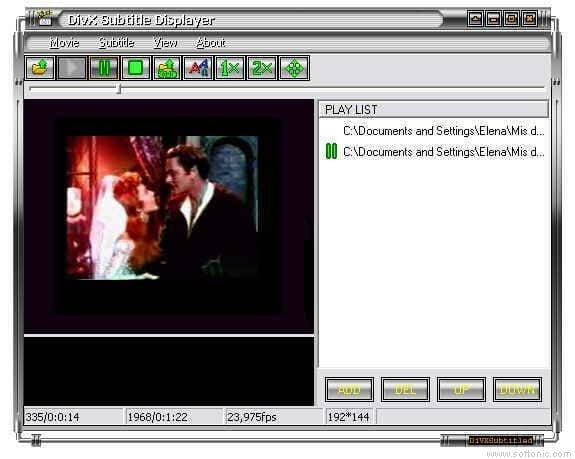 DivX Subtitle Displayer