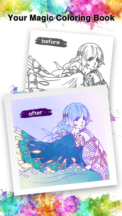 ColorDream - Coloring book