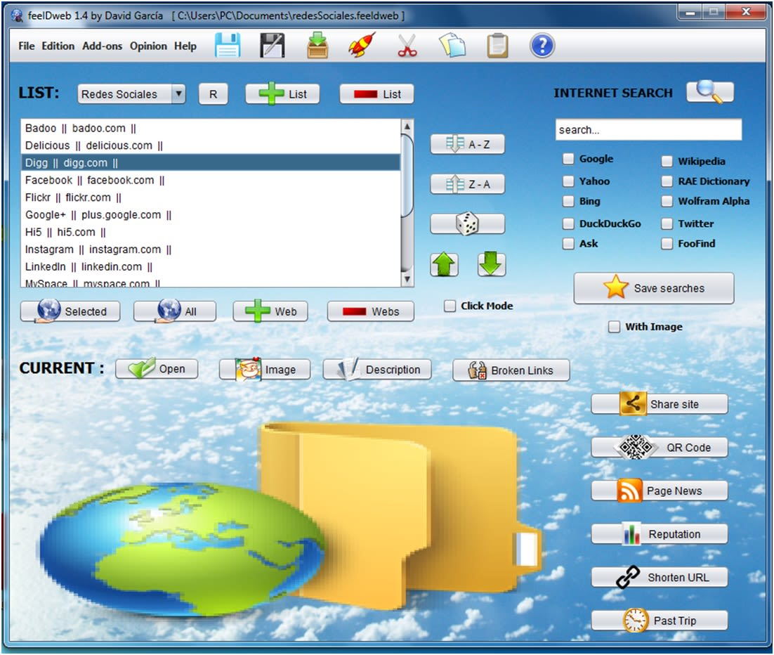 feelDweb Windows