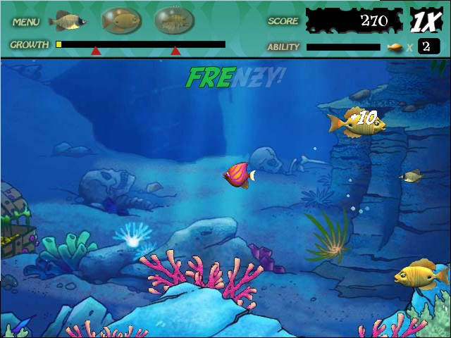 Feeding frenzy download for Fish frenzy game