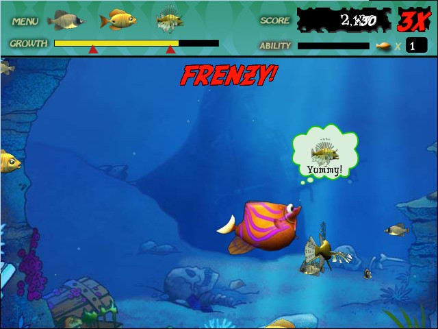 feeding frenzy is an eat or get eaten action game for windows pcs view full description feeding frenzy