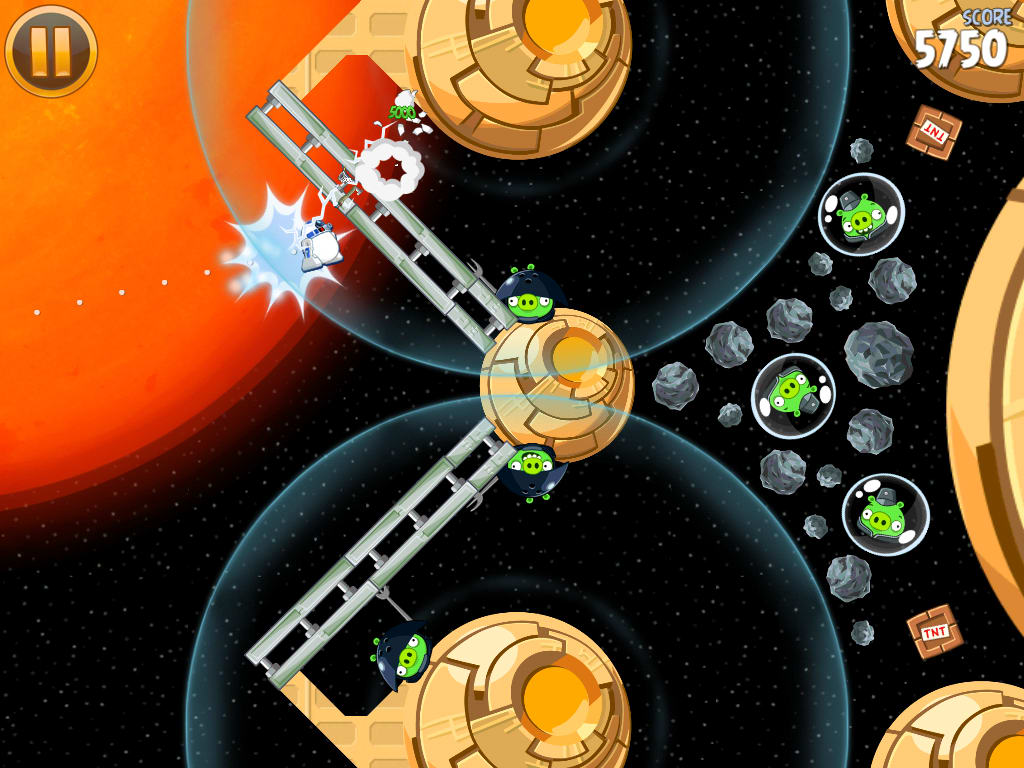 Angry birds star wars hd game