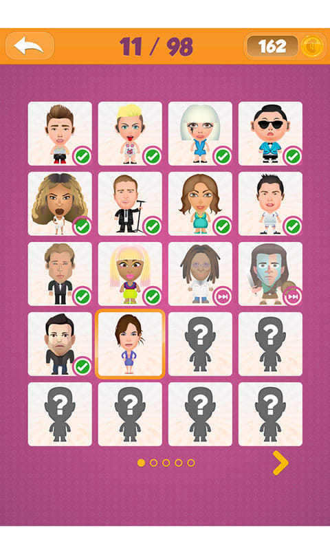 Guess The Caricature Celebrity Guessing Quiz Gam