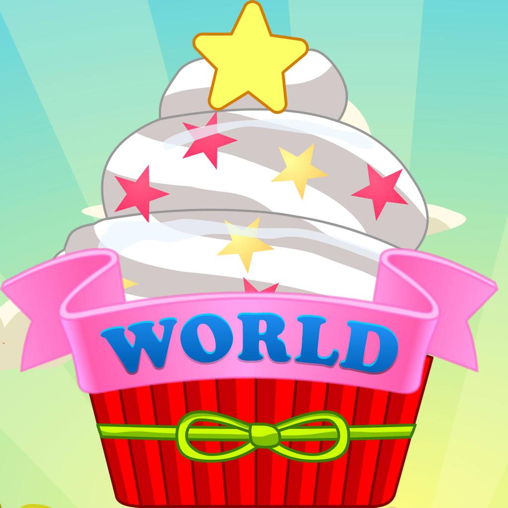 Kids Fun & Educational Cupcake Maths Game - Cupcake World