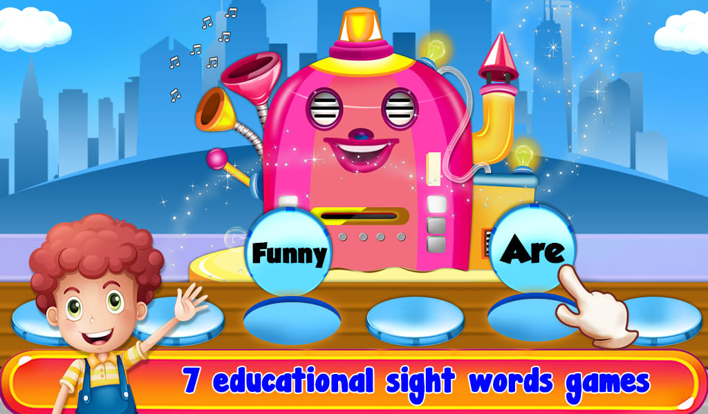 Flash Card & Sight Words Game