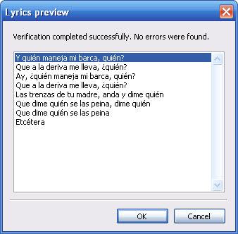 SYLT Editor