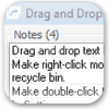 Drag and Drop Notes