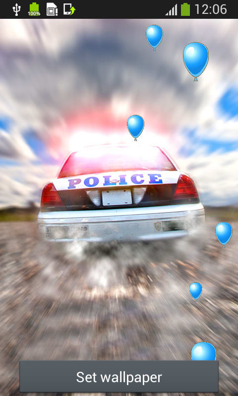 Police Car Live Wallpapers