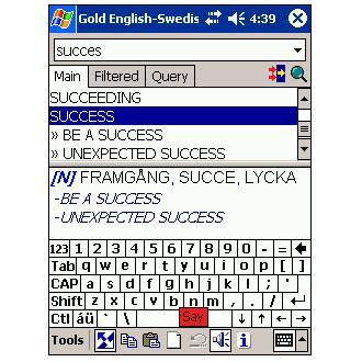 LingvoSoft Free Talking Dictionary English-Swedish-English