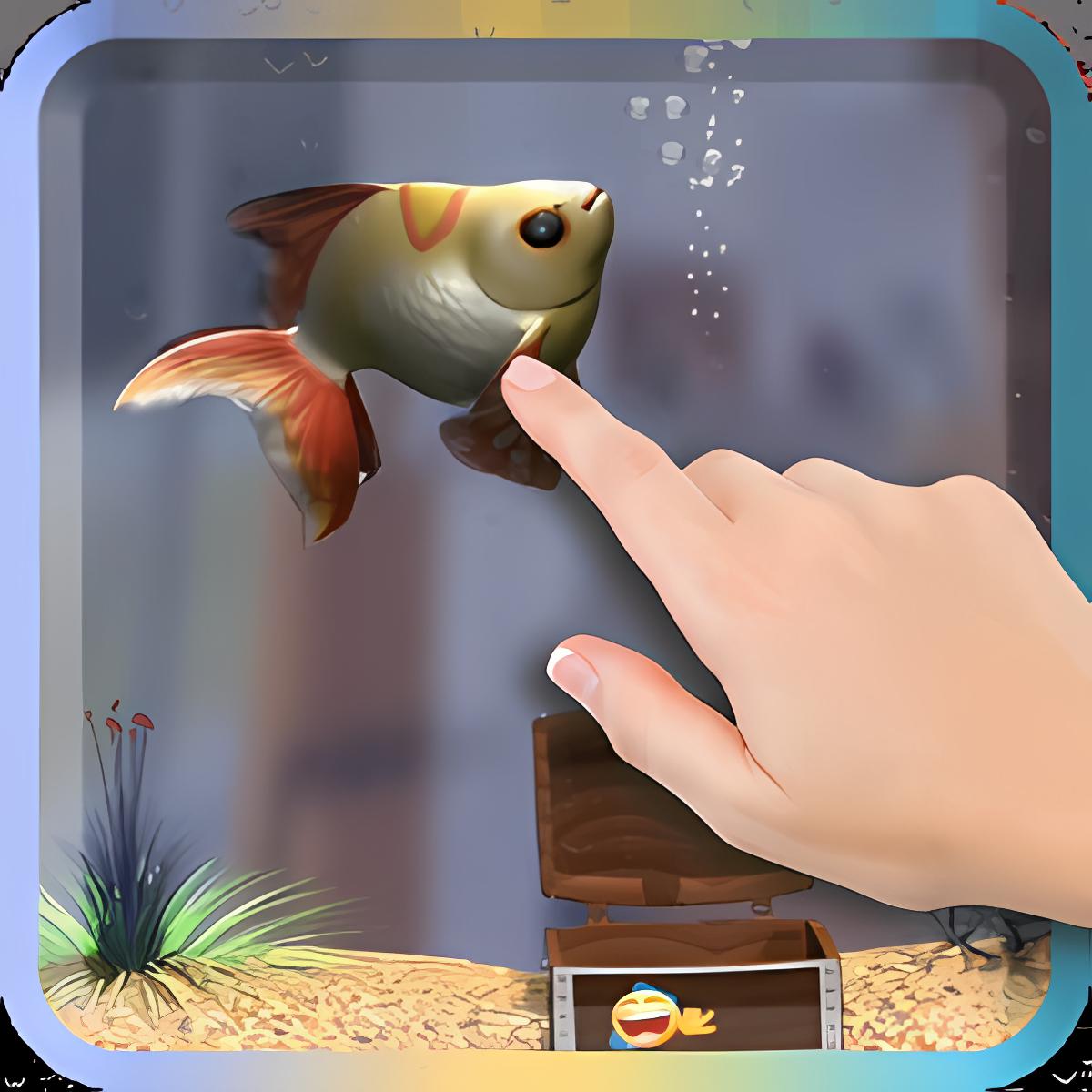 Goldfish Mascota en Teléfono