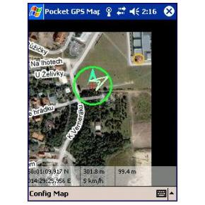 PocketGPS-Map