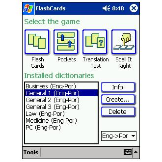 LingvoSoft FlashCards English-Portuguese-English