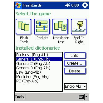 LingvoSoft FlashCards English-Albanian-English