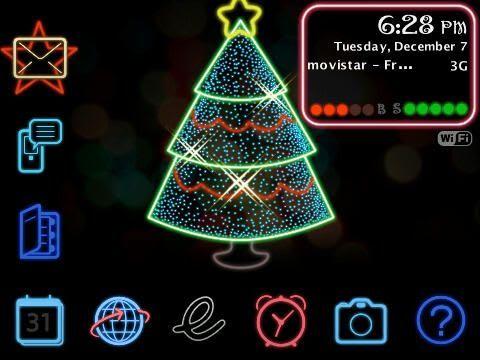 Static Neon Christmas