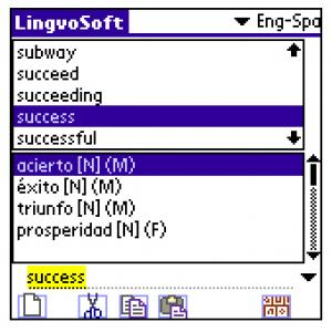 LingvoSoft Dictionary English-Spanish-English