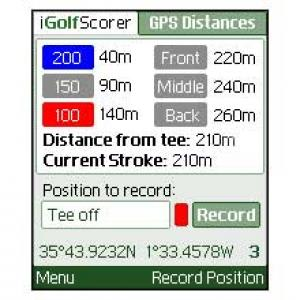 iGolfScorer GPS