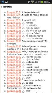 Biblia de las Americas
